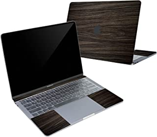 Digi-Tatoo 4-in-1 MacBook Skin Decal Sticker Compatible with Apple MacBook Pro 13 Inch w/Touch Bar (Model A2159/A1706/A1989), Full Body Protective, Removable and Anti-Scratch, Wood Texture