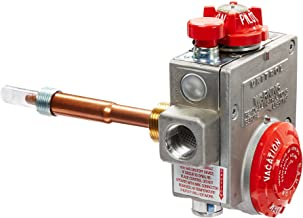 """Robertshaw 110-326 Water Heater Thermostat with 1-3/8"""" Shank, Natural Gas, 3-1/2"""" W.C"""