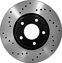 [Front Drilled Brake Rotors Ceramic Pads] Fit 04-06 Mitsubishi Lancer Ralliart