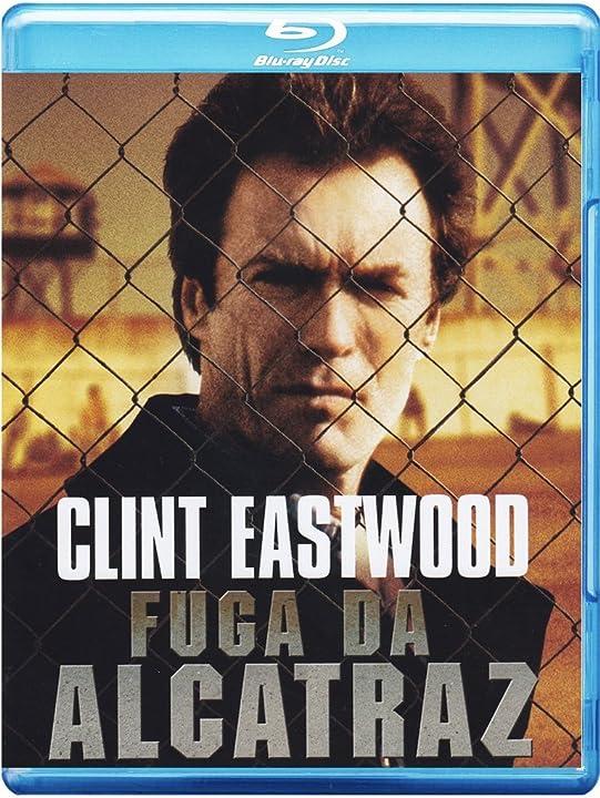 Film - fuga da alcatraz - bluray o dvd - clint eastwood