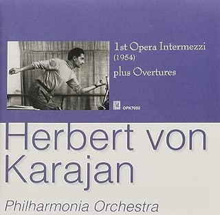 Karajan: Opera Intermezzi & Overtures 1954