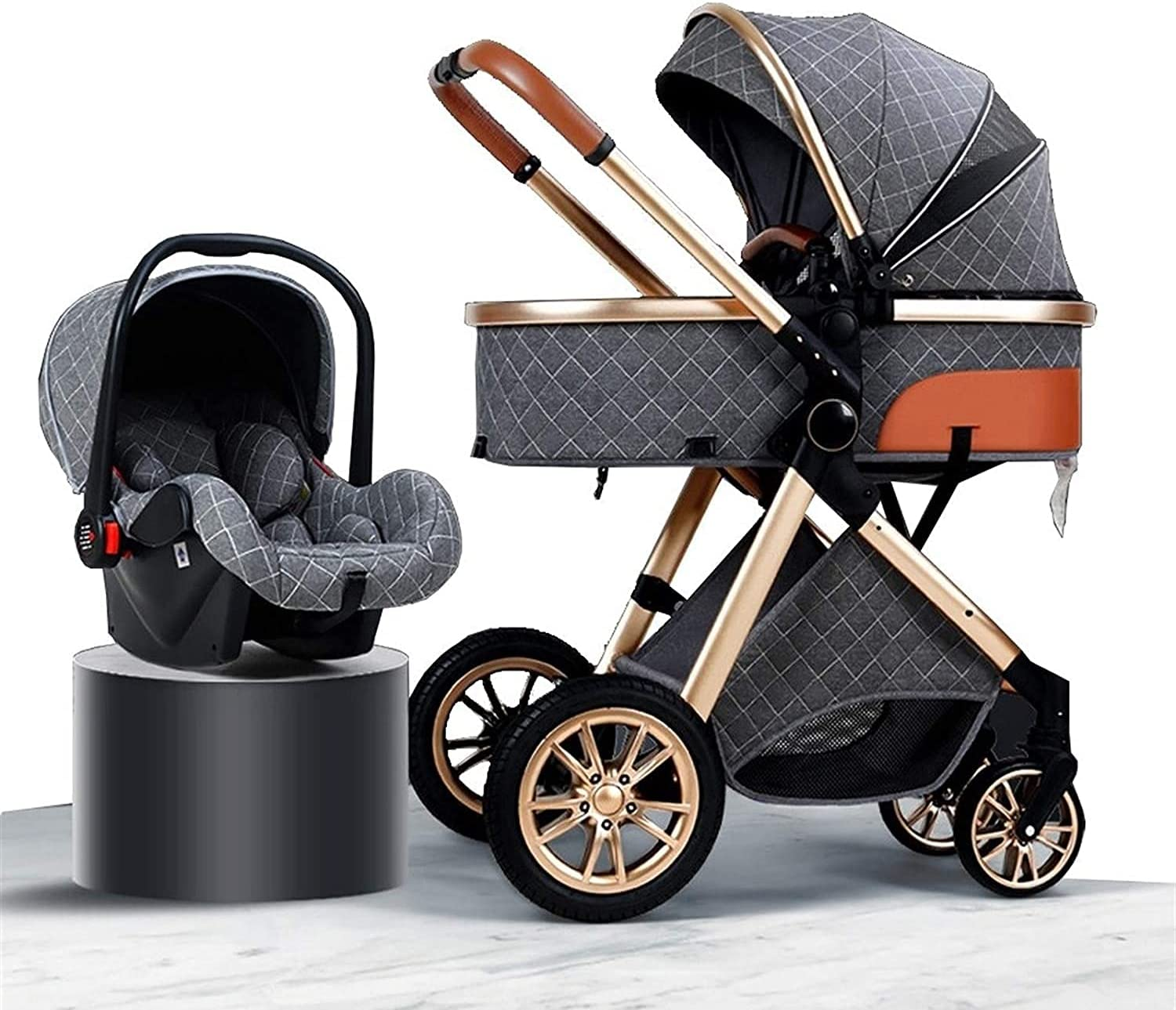 JAKWBR Luxury 3 in 1 Baby Pram Ranking TOP3 Limited time for free shipping F System Stroller Travel Carriage