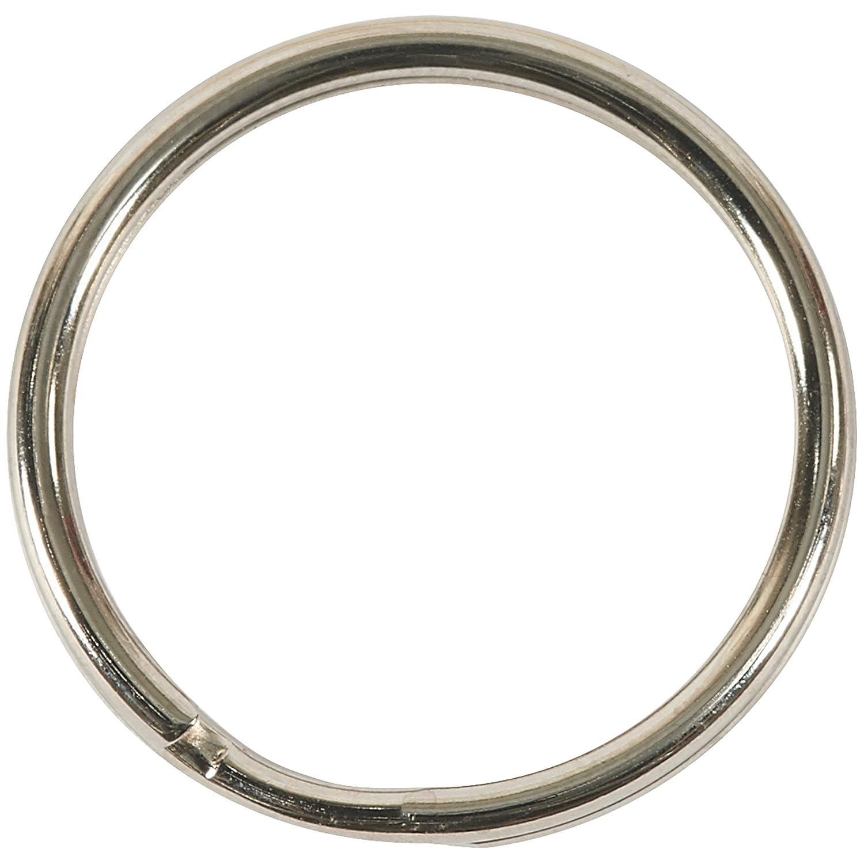 Split Key Rings Financial sales sale Nickel Plated.970