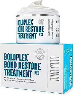 Boldplex No3 Bond Repair - Maschera per il Trattamento delle Proteine dei Capelli - Formula Idratante Condizionante per Ca...
