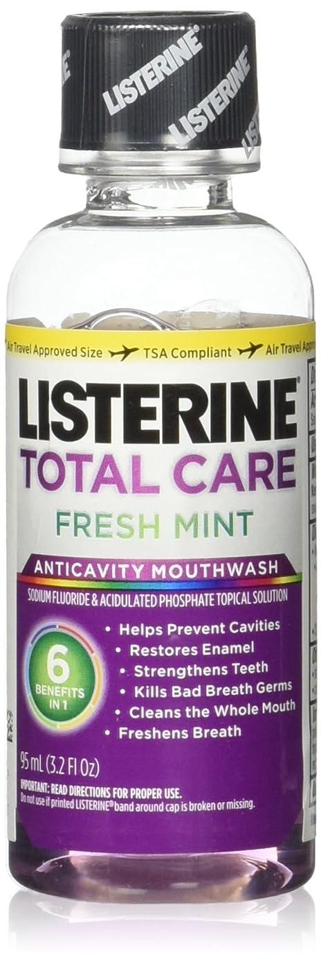 オーロックカスタム反対にListrn Tot Frsh Mnt Size 3.2z Listerine Total Care Fresh Mint Mouthwash by Listerine