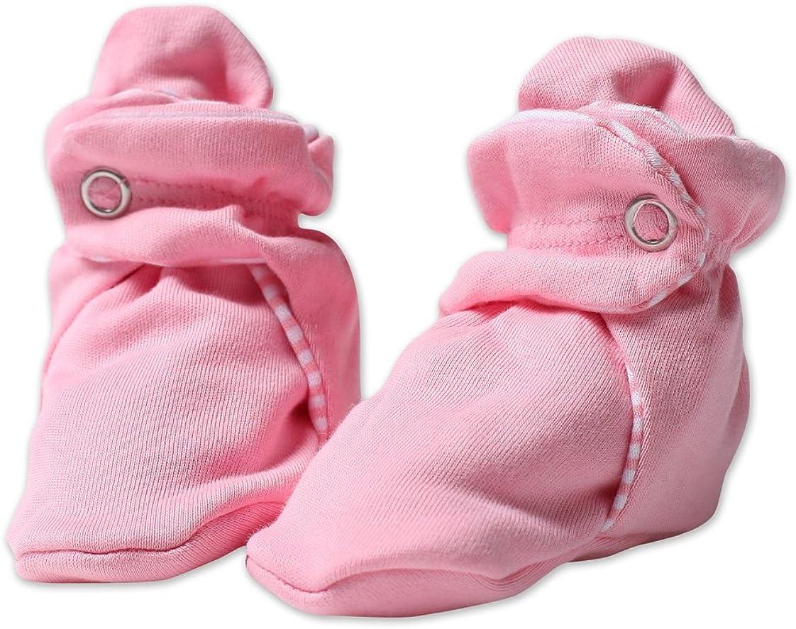 Zutano Baby Girls' Pastel Solid Bootie