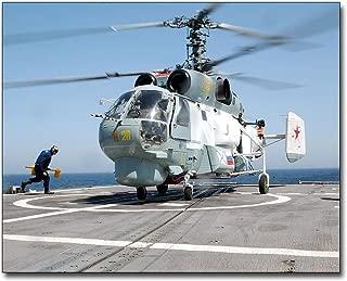 Russian Helix KA-27 Helicopter 11x14 Silver Halide Photo Print