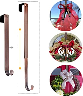 LBSUN L-05, Adjustable Hanger Holder & Wreath Hook Door, Bronze