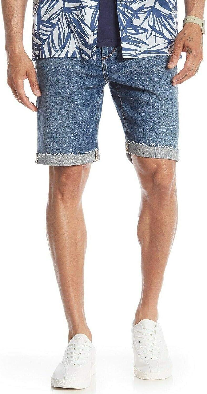 Joe's Jeans Womens Brixton Mid-Rise Raw Hem Shorts
