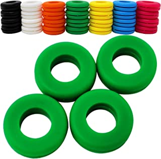 Z Best Tennis Vibration Dampeners - Reduce String Rattle Elbow Pain - Shock Absorbing Set - Great Racquetball, Squash, Badminton - 4 Pack