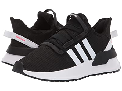adidas Originals Kids U_Path Run J (Big Kid) (Black/White/Shock Red) Kids Shoes