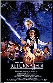 Erik Förlag grupp GPE Palmtop Environment 4675 Star Wars Return of the Jedi One Sheet Aster, 61 x 91,5 cm