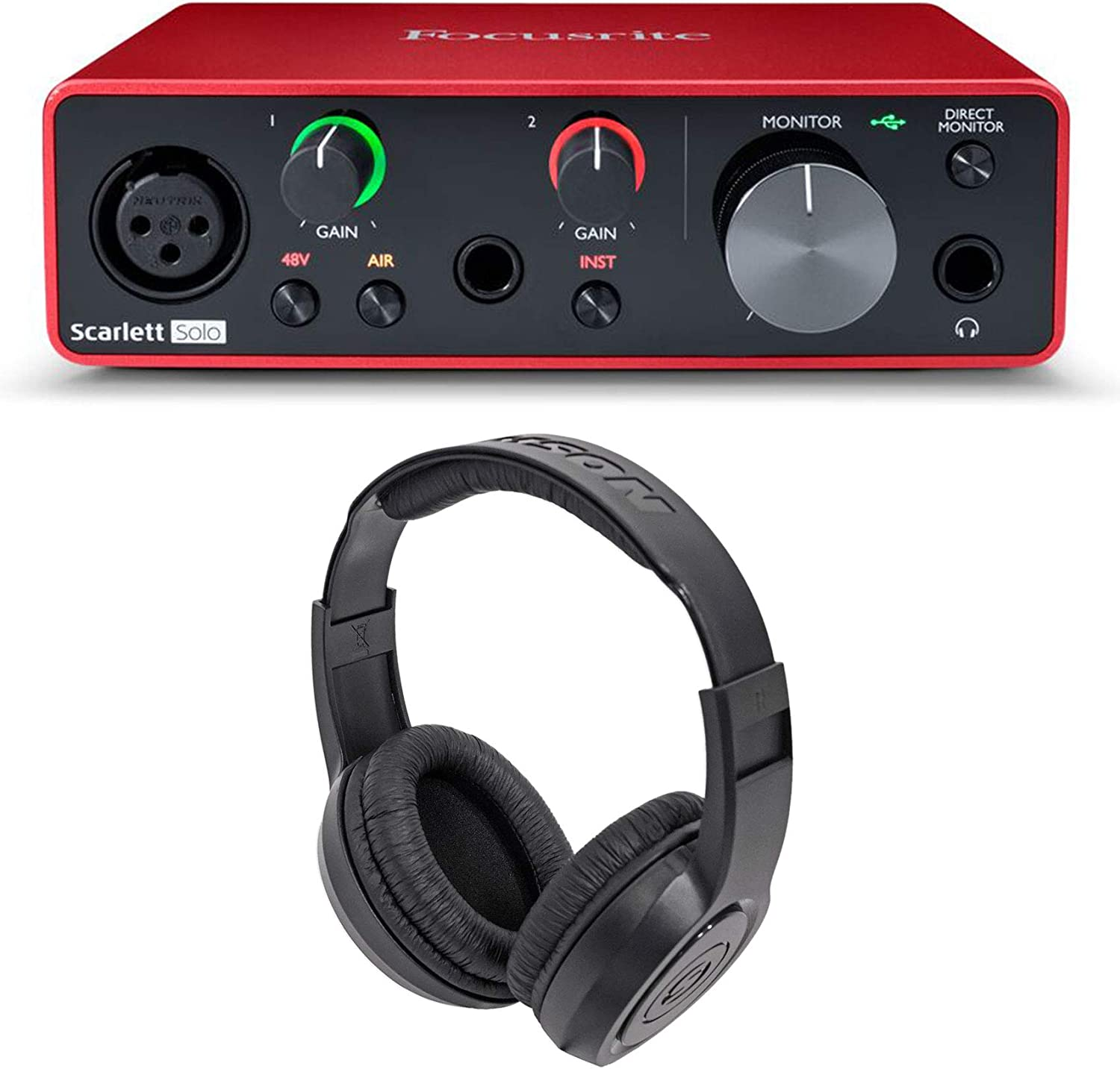 Focusrite SCARLETT SOLO 3rd Inventory cleanup selling sale Gen 192kHz w Audio Interface Max 58% OFF USB Sa