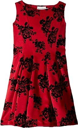 Adore Fit N Flare Dress (Big Kids)