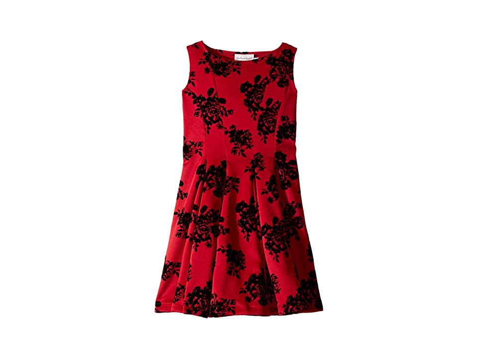 fiveloaves twofish Adore Fit N Flare Dress (Big Kids) (Red) Girl