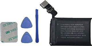 Vvsialeek A1761 - Batería compatible con Apple Watch Series 2, 2 unidades, 42 mm, A1758 Gen con kit de herramientas