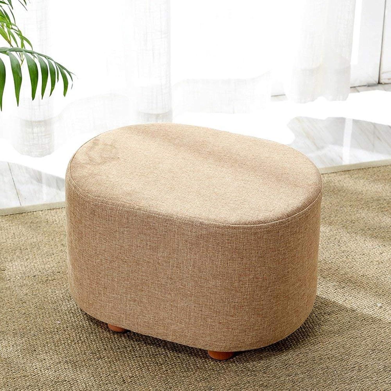 QTQZ Brisk- Sofa- Footstool Clothing Store Sofa for shoes Stool Fabric Sofa pier Sofa Stool Foot Bench;