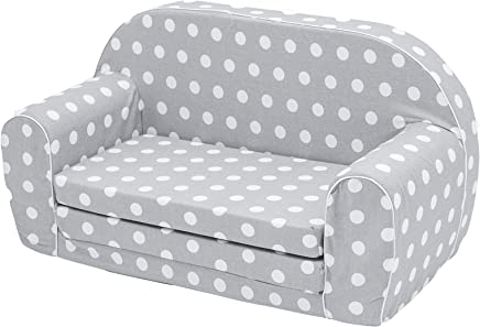 MuseHouse Childrens Sofa Kids Sofa bed Toddlers Foldable one sofa bed