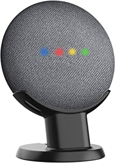 SPORTLINK Pedestal for Google Home Mini/Nest Mini (2nd gen) Improves Sound Visibility and Appearance - A Must Have Google Home Mini Accessories (Black)…
