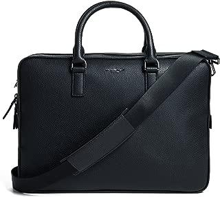 Michael Kors Men's Bryant Large Briefcase, Black, One Size
