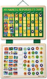 Melissa & Doug Magnetic Responsibility and Chore Chart (Developmental Toys, Encourages Good Behaviour, 90 Pieces, 40.005 c...