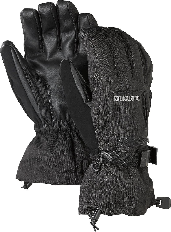 BURTON Mens Baker 2 in 1 Under Glove, True Black, Large
