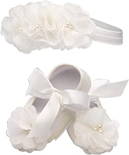Best ivory christening shoes for baby girl Reviews