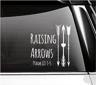 Raising Arrows Psalm Car Decal- Tumbler Decal
