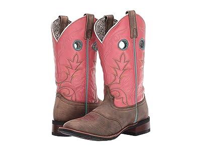 Laredo Kinleigh (Sand/Pink) Cowboy Boots