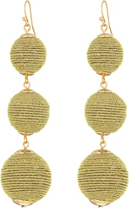 SHASHI - Matilda Sparkle Linear Drop Earrings