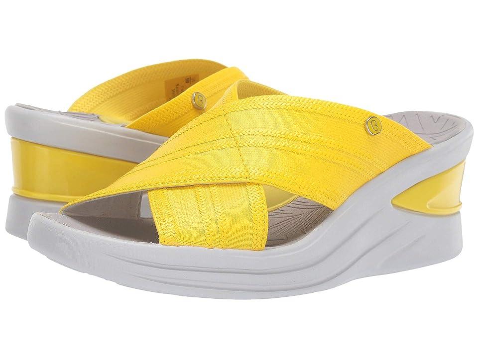 Bzees Vista (Blazing Yellow Metallic Fabric) Women