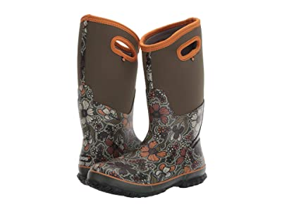 Bogs Classic Tall May Flowers (Green Multi) Women