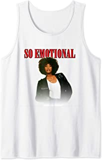 Whitney Houston Official So Emotional 80's Tank Top