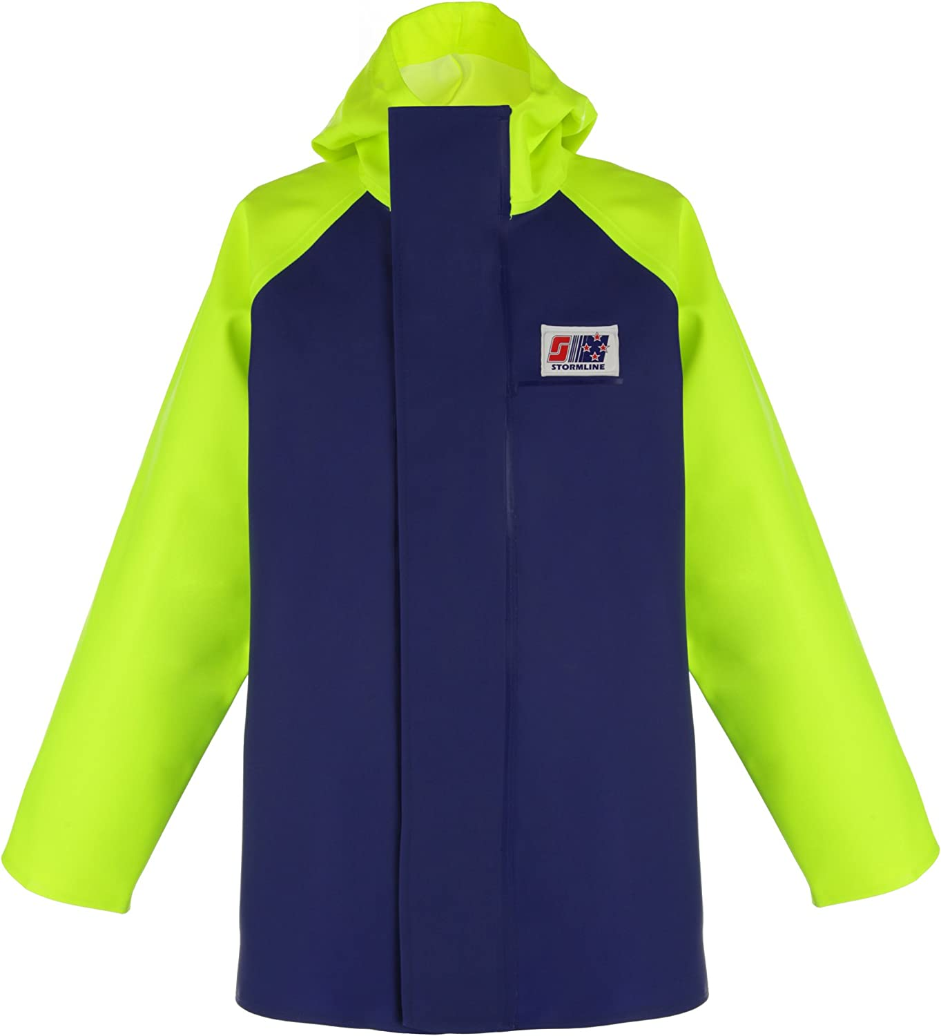 Stormline Crew 255 Max 45% OFF Fishing Rain Jacket OFFicial mail order Gear Xtra-Large