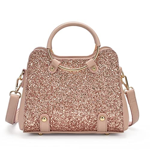 284af0b170 Montmo PU Leather Sequin Design Messenger Cross Shoulder Bag Handbag For  Women Girl