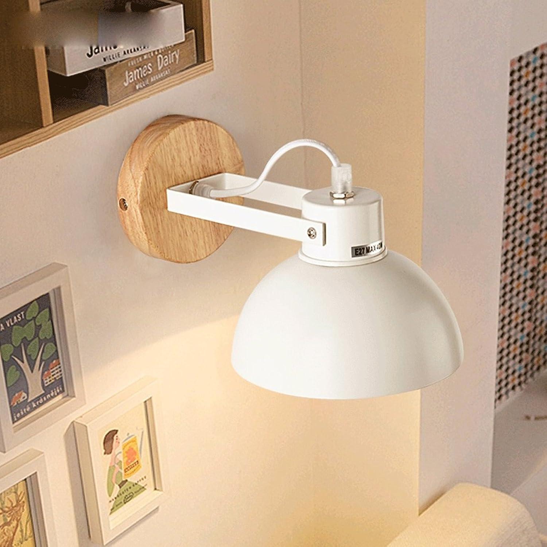 Led-Licht Kreative Hotel Gang Balkon Modernen Minimalistischen Schlafzimmer Nachttischlampe Holz- Wohnzimmer Wandleuchte