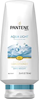 Pantene Aqua Light Weightless Nourishment Conditioner 25.4 Fl Oz (Pack of 2) (packaging may vary)