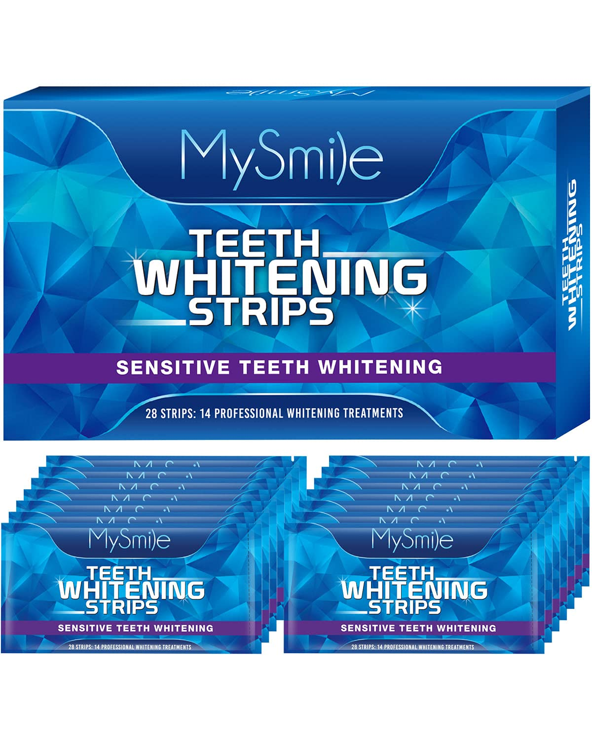 MySmile All items in the store Teeth Whitening Strips White Kit Large discharge sale