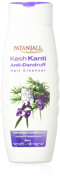 ピア居眠りするランデブーPATANJALI Kesh Kanti Anti-Dandruff Hair Cleanser Shampoo, 200ML by Patanjali