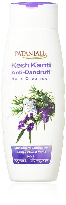 ミリメーターレタッチストローPATANJALI Kesh Kanti Anti-Dandruff Hair Cleanser Shampoo, 200ML by Patanjali