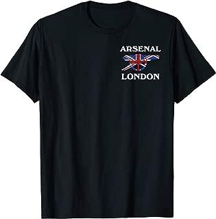 Best arsenal black t shirt Reviews