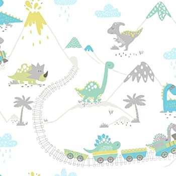 Holden Decor Dinosaur Dictionary Dino Names Blue Kids Wallpaper 90901