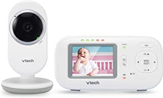 VTech VM320 2.4 Inch Digital Video Full-Color Baby Monitor with Automatic Night Vision White