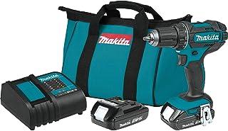 "Makita XFD10SY 18V LXT Lithium-Ion Compact Cordless 1/2"" Driver-Drill Kit (1.5Ah)"