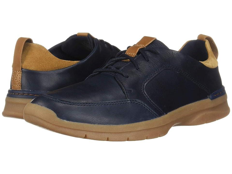 Clarks Orlin Vibe (Navy Leather) Men