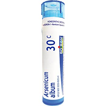 Boiron Arsenicum Album 30C, 80 Pellets, Homeopathic Medicine for Food Poisoning