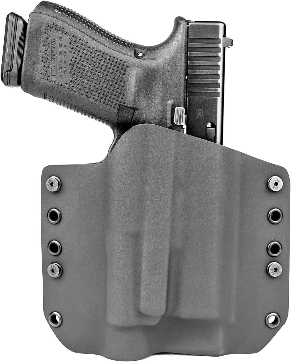 FLAT DARK EARTH OWB Kydex Holster for Hanguns with Crimson Trace CMR 208 FDE