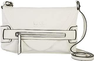 Nicole Miller New York White Laura Crossbody Bag