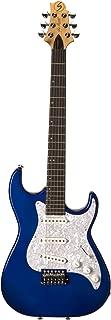 Samick Greg Bennett Design MB30 Electric Guitar, Midnight Blue Metallic