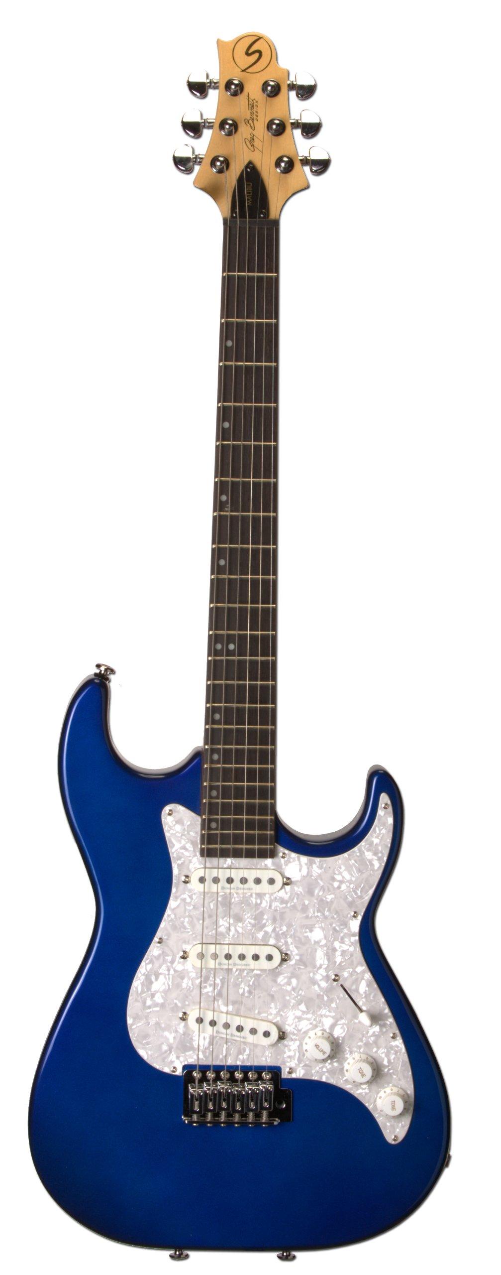 Cheap Samick Greg Bennett Design MB30 Electric Guitar Midnight Blue Metallic Black Friday & Cyber Monday 2019
